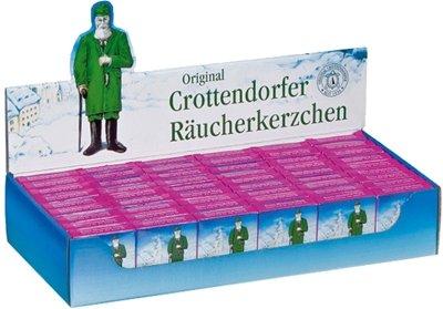 Räucherkerzen Bunte Mischung, Minis, Display 60 Packungen NEU Zubehör Räuchermann Rauchfigur