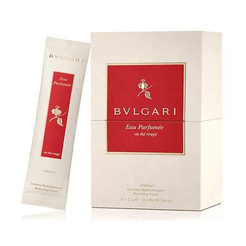 Bvlgari Unisexdüfte Eau Parfumée au Thé Rouge Refreshing Towels 15 Stk.