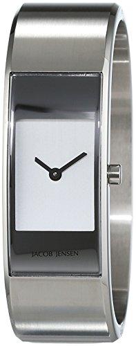 JACOB JENSEN Damen Analog Quarz Uhr mit Edelstahl Armband Eclipse Item NO. 440