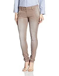 TOM TAILOR Damen Hose Relaxed Tapered