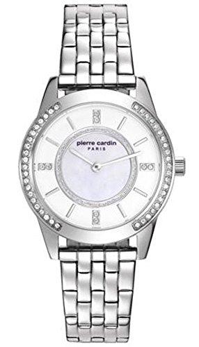 Pierre Cardin Reloj Analogico para Mujer de Cuarzo con Correa en Acero Inoxidable PC108182F04