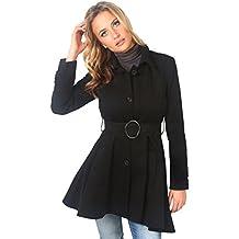 Kurzer ausgestellter mantel