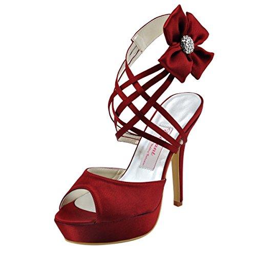 elegantpark-scarpe-con-plateau-donna-rosso-bordeaux-37
