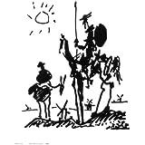 Reproduction d'art 'Don Quichotte', de Pablo Picasso, Taille: 28 x 36 cm