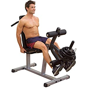 Body-Solid Beintrainer Beinstrecker Beinbeuger liegend Deluxe Seated Leg Extension & Supine Curl