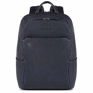 Piquadro Black Square mochila porta ordenador con porta iPad®Air/Pro 9,7 y CONNEQU, Azul noche – CA3214B3/BLU
