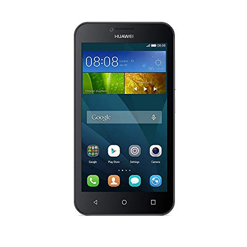 Price comparison product image Huawei Y5 (Unlocked) 8GB Smartphone - Black