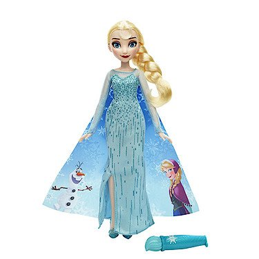 Hasbro B6700 - Disney Die Eiskönigin - Magischer Modezauber Elsa [UK Import]