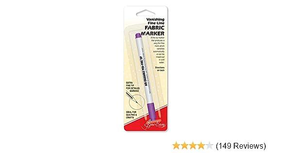 Fabric Marker Vanishing Hemline