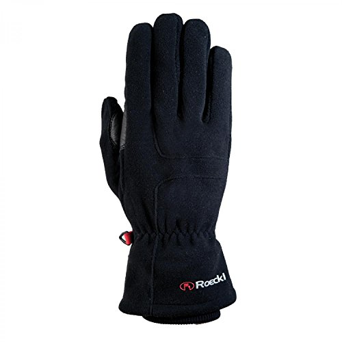 Roeckl Erwachsene Kodal Handschuhe, Schwarz, 8