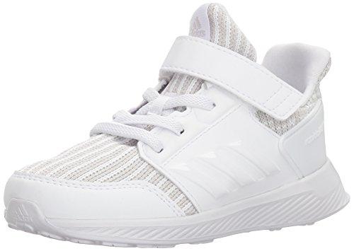 adidas Originals Baby RapidaRun Knit I Sneaker, Grey Two Fabric, FTWR White, FTWR White, 8.5K M US Toddler (Sneaker Adidas Toddler)