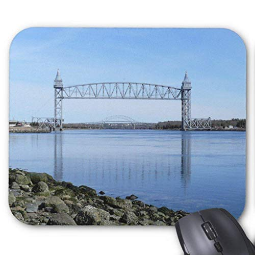 Wristband Cape Cod Canal Railroad Bridge Mousepad Computer Accessories Anti-Friction 18X22