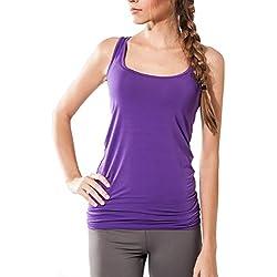 Camiseta fitness de algodón ecológico