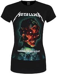 Metallica Hardwired...To Self-Destruct Girl-Shirt schwarz