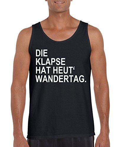 TRVPPY Herren Tank-Top Shirt Modell Die Klapse hat heut´Wandertag, Grau, XXL - Hat Tisa