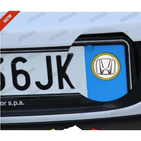 2 X ADESIVI TARGA AUTO STICKERS EMBLEMA LOGO HONDA JAZZ CIVIC CRZ INSIGHT LEGEND CRV