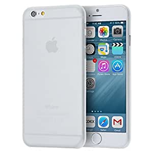 IMC DEALS iPhone 6 6S (4.7) Ultra Slim Semi Transparent Matte Forst Frosted Case - WHITE