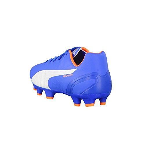 Puma evoSPEED 4 Head To Head FG Fußballschuh Herren electric blue lemonade-white-orange clown fish