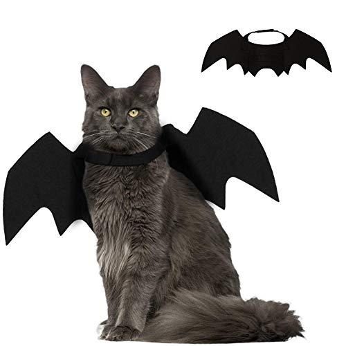Kostüm für Katzenwelpe Kleiner Hund, einstellbar Haustier Bekleidung, Katze Kostüm Zubehör für Thanksgiving Day Weihnachten Cosplay Party ()