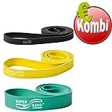 Superband Kombi 2-4 Band Expander Widerstandsband Klimmzugband