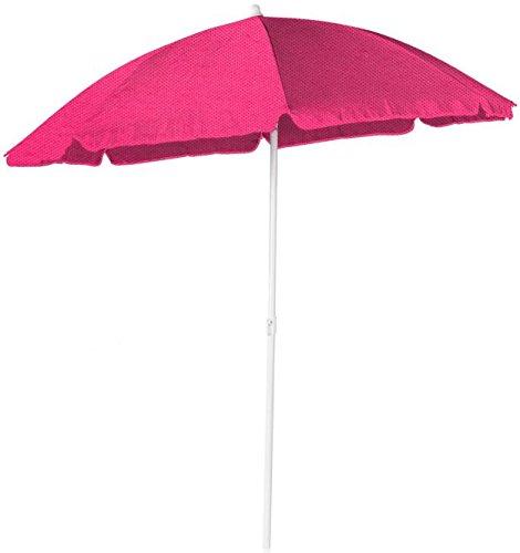 Besttoy Sonnenschirm - aus Polyester - Ø = 180 cm - Pink