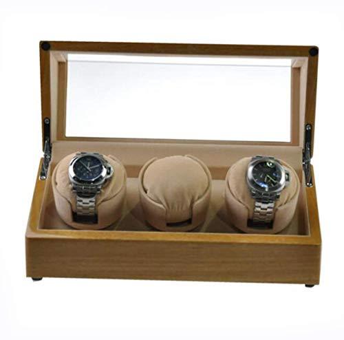 Box J-Uhrenaufbewahrung Uhrenbeweger for Automatische Uhr, Angetrieben Durch Japanische Mabuchi Motor, 100% Handarbeit