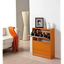 Kit Closet 4000040002 - Zapatero, 2 puertas, color cereza