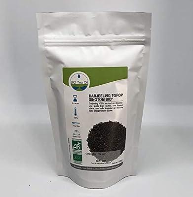 Darjeeling TGFOP Singtom BIO* Noir Inde naturel - Thé noir Biologique - Inde - 100gr - haute qualité