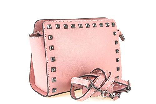Borse a Tracolla e Zaini Sophie Beauty in Vera Pelle, Made in Italy Rosa