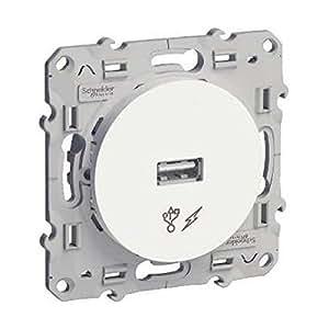 Schneider Elec ppm–PMO 2030–prise USB avec chargeur