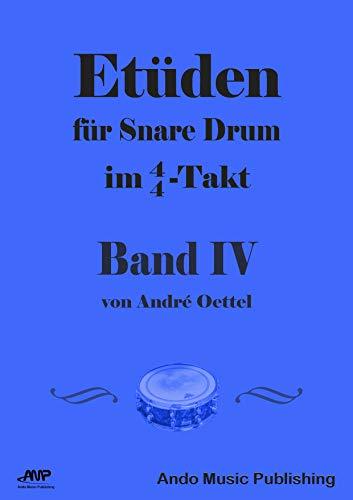 Etüden für Snare-Drum im 4/4-Takt - Band 4