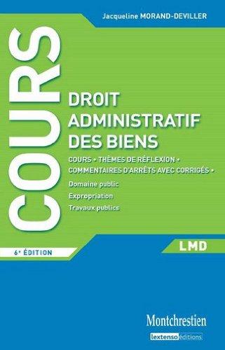 Droit administratif des biens par Jacqueline Morand-Deviller