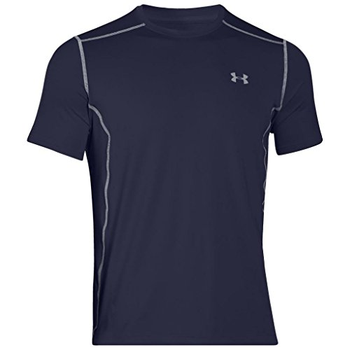 Under Armour Herren Kurzarmshirt UA Raid SS, Midnight Navy, SM, 1257466-410