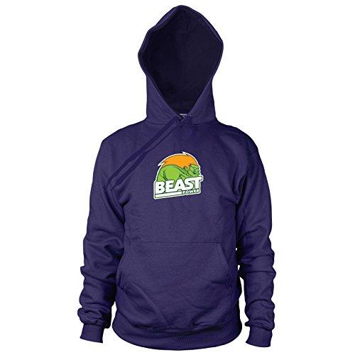 Beast Power - Herren Hooded Sweater, Größe: L, -