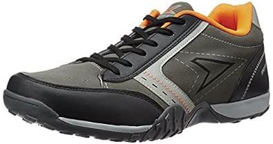 Power Men's Street 151 Black Running Shoes - 7 UK/India (41 EU)(8396039)