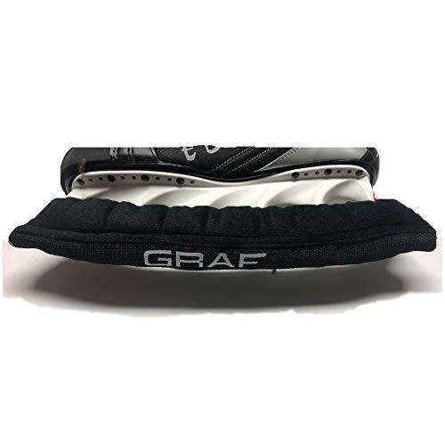 GRAF Kufenschoner Kufenstrumpf für Eishockey Schlittschuhe auch K2 Bauer t-Blade Größe 42, 43, 44, 45, 46, 47 (Graf-schlittschuhen)