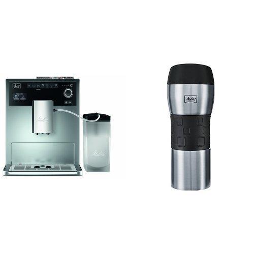 Melitta E 970-101 silber Kaffeevollautomat Caffeo CI + Melitta 206056 IsolierTrinkbecher