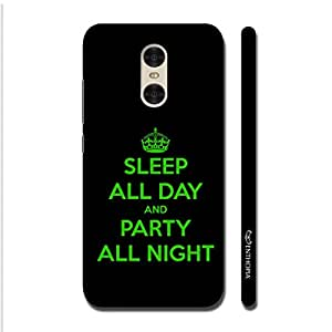 Enthopia Designer Hardshell Case Party All Night Back Cover for Xiaomi Redmi Pro