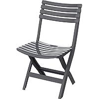 كرسي بلاستيك قابل للطي للاستخدام الداخلي والخارجي من كوزموبلاست 6291048123958