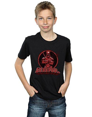 Absolute Cult Marvel Niños Deadpool Crossed Arms Logo...