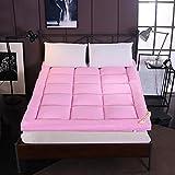 HIGHKAS Faltbare Tatami-Bodenmatte, verdicken Gesteppte Matratze Faltbare Gästebettmatte rutschfeste extraweiche Futon-Matratze Pad-c 90x200cm (35x79inch)