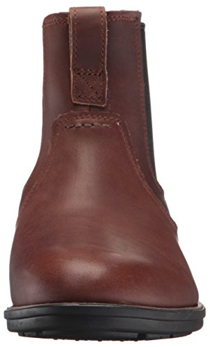Timberland Men s Carter Notch Chelsea Boot  Dark Brown Full Grain  9 D M  US