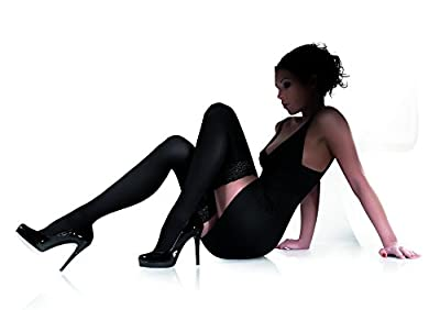 High Quality Opaque 3D Microfibre Hold Ups, 100 Den, Marilyn Chanel100 Stockings