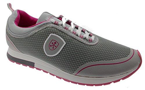 Swissies Donna Sneakers, 4/192, GIADA, Grigio, 41