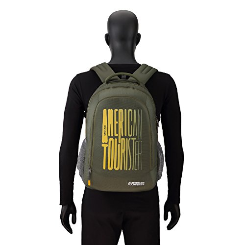 American Tourister 32 Ltrs Olive Casual Backpack (AMT Fizz SCH Bag 03 - Olive) Image 6