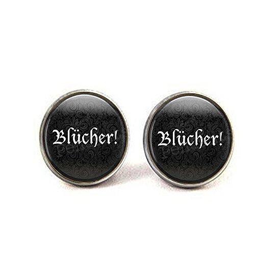 bab Blücher ! Halloween-Ohrringe - Frankenstein Ohrringe - Halloween-Schmuck - Frau Zitat - Cosplay Ohrringe (Frankenstein Und Frau Kostüm)