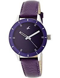 Fastrack Monochrome Analog Purple Dial Women's Watch -NK6078SL05