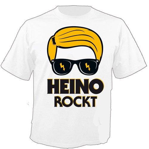 HEINO - Cartoon - HEINO rocce! - T-Shirt