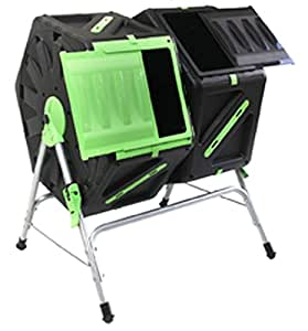 Good Ideas 140 Litre (2x 70Litre) Twin Chamber Tumbling Composter (TMK-01577)