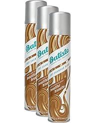 Batiste Shampooing sec (Pack 2+ 1)–Shampooing sec–Color brünett (3x 200ml)